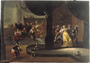 De kroning van Joas en de gevangenneming van Atalja (2 Koningen 11:10-16; 2 kronieken 23:11-15)