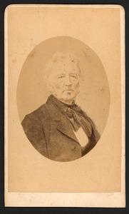 Portret van Jacobus de la Lande Cremer (1800-1874)