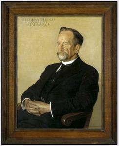 Portret van G. (Gerrit) Hondius Bolding (1865-1936)