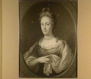 Portret van een 34-jarige vrouw, 1699