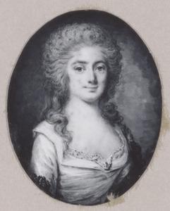 Portret van een vrouw, mogelijk Cornelia van Brakel (1754-1823)