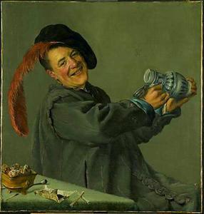 De vrolijke drinker