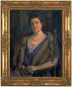 Portret van Anna Agathe Geertruida Gevaerts (1873-1941)