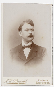 Portret van E. Volkersz