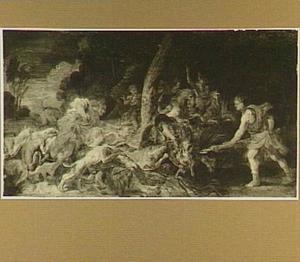 De Caledonische everzwijnjacht van Atalanta en Meleager