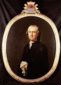 Portret van Nicolaas Galle ( -1777)