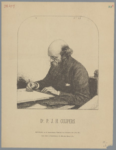 Portret van Pierre Joseph Hubert Cuypers (1827-1921)