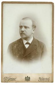 Portret van Willem Herman Albert Clifford (1858-1939)
