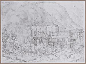 Het klooster van Yuste in Spanje