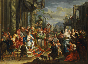 De zalving van Koning David (1 Samuël 16:1-13)