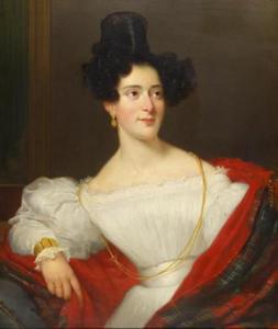 Portret van Anna Gratia Mariana Asser (1807-1893)