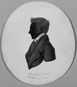 Portret van Cornelis Albarda (1796-1866)
