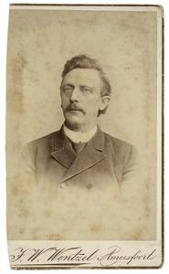 Portret van J.C.F. Prikken