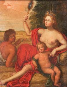 De godin Ceres: allegorie op de Zomer