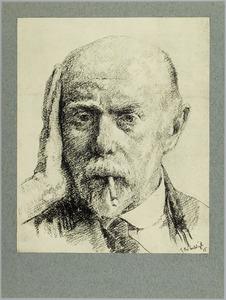 Portret van Isaac Israels (1865-1934)