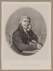 Portret van Johan Rudolph Deiman (1743-1808)