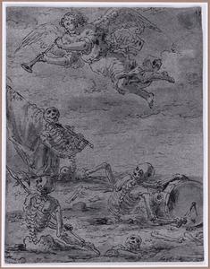 De krijgslieden staan op uit hun graven (Suenos 1641, boek III, zesde droom)
