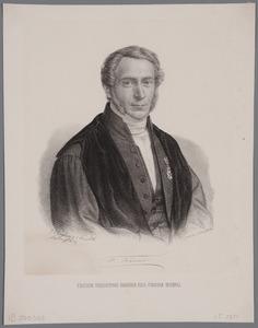 Portret van Friedrich Kaiser (1808-1872)