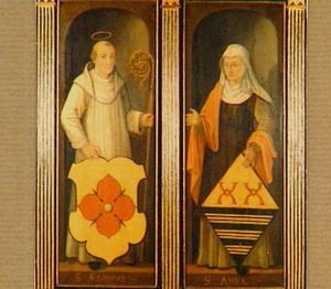 De HH. Egidius en Anna