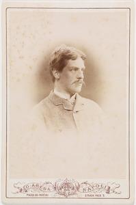 Portret van een man, waarschijnlijk Otto Johan Willem Carel graaf van Bylandt (1852-1929)