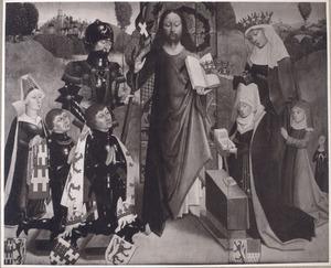 Christus als Logos met Raas van Haamstede en zijn familie