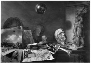 Allegorie op de kunsten en wetenschappen