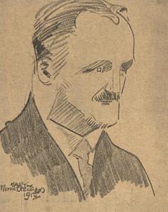 Portret van Richard Nicolaus Roland Holst (1868-1938)