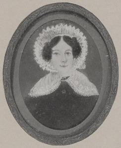 Portret van Maartje Hartog (1814-1893)
