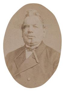 Portret van Arjen Buwalda van Holkema (1811-1891)