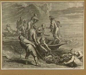 Wonderbaarlijke visvangst (Luk. 5:4-7)