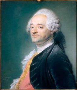 Portret van Maurice Quentin de Latour (1704-1788)