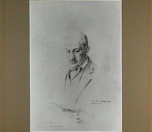 Portret van de schilder Gijs Bosch Reitz