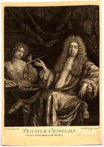 Portret van Adriaan Beverland (1650-1716)