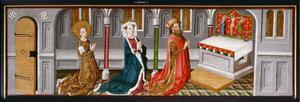 Heilige Ursula en haar ouders in de kapel