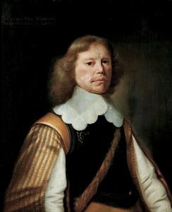 Portret van Poppe van Burmania (1603-1696)