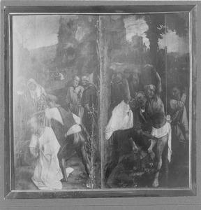 Het martelaarschap van twee heiligen
