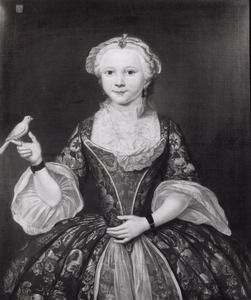 Portret van Hester Cornelia Tetterode (?-1750)