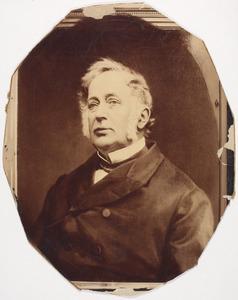 Portret van Willem Boreel (1800-1883)