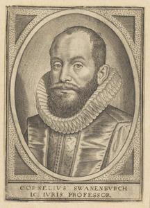 Portret van Cornelius Swanenburch (1574-1630