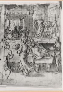 Salome brengt het hoofd van Johannes de Doper aan haar vader