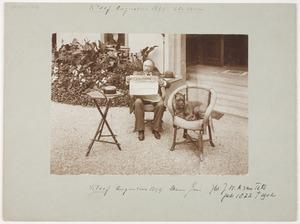 Portret van Johan Willem Arnold van Tets (1822-1902)