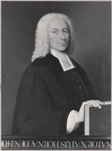 Portret van Pieter  Laan (1695-1743)