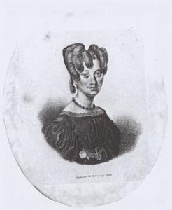 Portret van Maria Rekker Bartholomeusdr. (1805-1841)