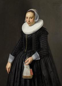 Portret van een 22-jarige vrouw