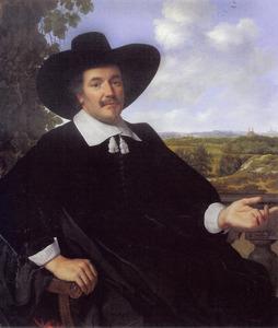 Portret van een man, waarschijnlijk Hendrick Zegersz. van der Kamp