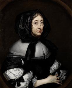 Portret van Lady Hoby van Bisham Abbey
