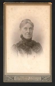 Portret van Catharina Gips (1835-1917)