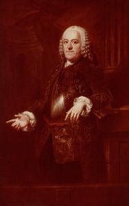 Portret van Frederik Hendrik van Wassenaer Catwijck (1701-1771)