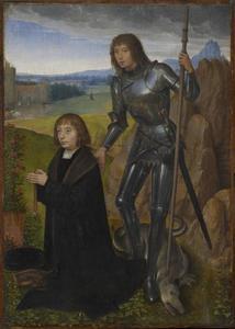 Sint Joris met stichter