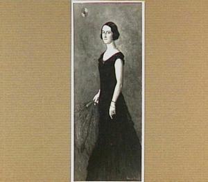 Portret van mevrouw H.L. Merens Houtman